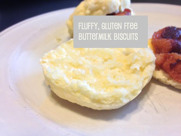 fluffy gluten free buttermilk biscuits