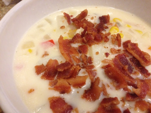 Top with bacon