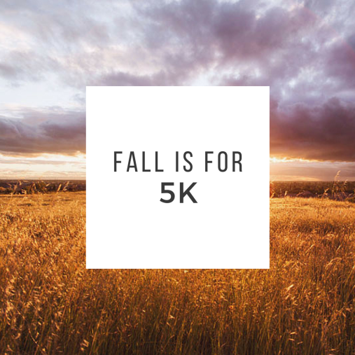 fall is for 5k